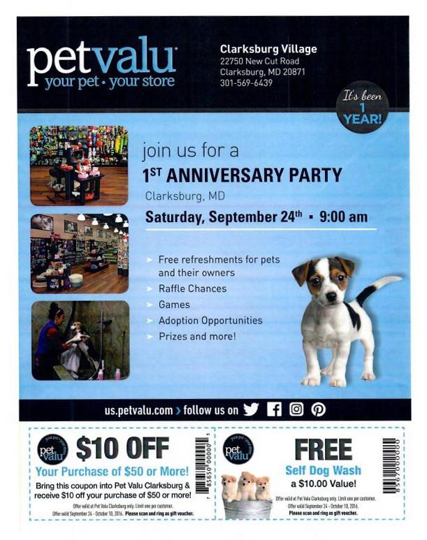 Petvalu 1st Anniversary Party Neighborhood Veterinary